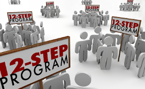 12 Step Program Graphic Image
